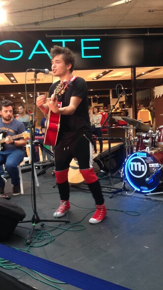cool pants rock singer music boy mens pants