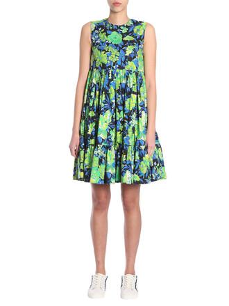 dress cotton print multicolor