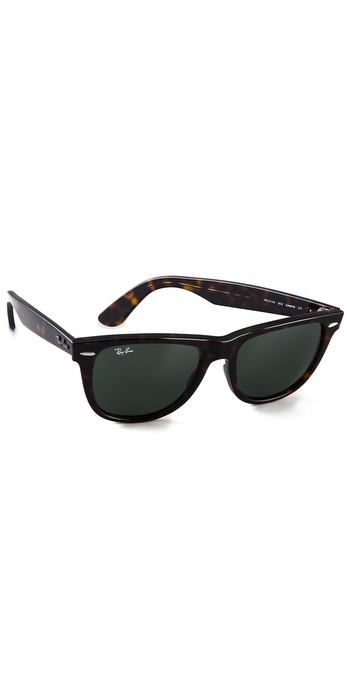 Ray-Ban Большие солнцезащитные очки «вейфарер» Outsiders | SHOPBOP