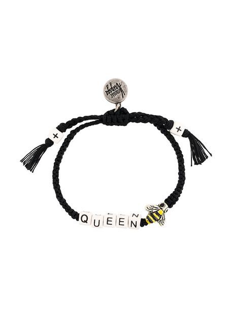 Venessa Arizaga women bee cotton black jewels
