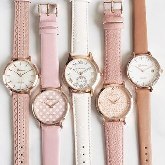 watch pastel pink girly girly wishlist blush pink nude
