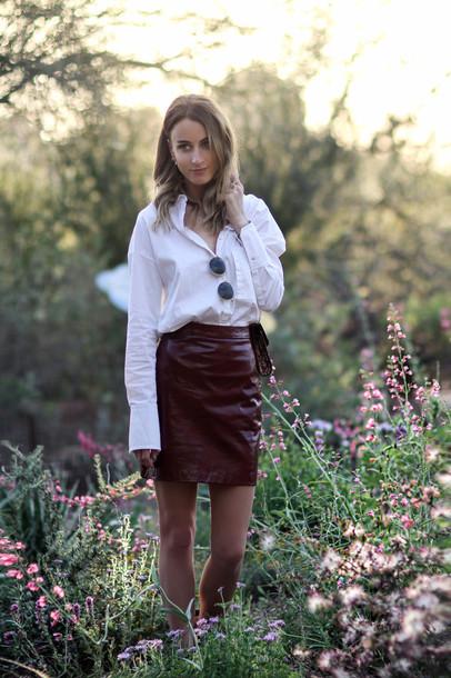 queen of jet lags blogger skirt shirt shoes bag sunglasses