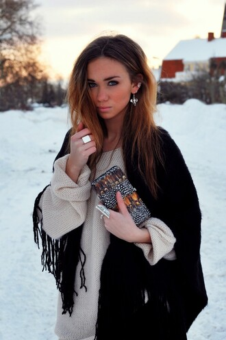 white bag black bag clutch boho wallet feathers lisaplace lisa grey bag orange bag brown bag