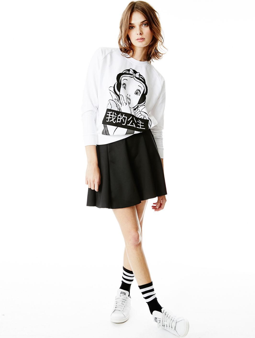 Jupe courte vero moda swing swing hw short skirt black