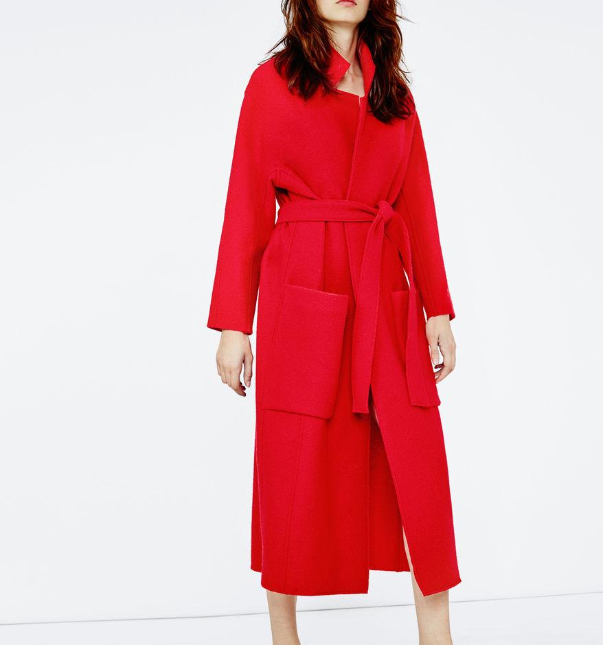 long wool coat - Winter Escape - Maje.com