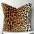 Leopard Velvet decorative pillow cover - Made to Order - CHOOSE YOUR SIZE