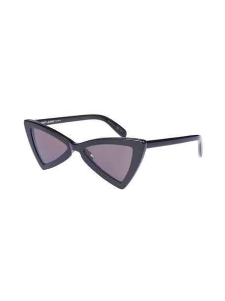 Saint Laurent sunglasses shiny smoke black