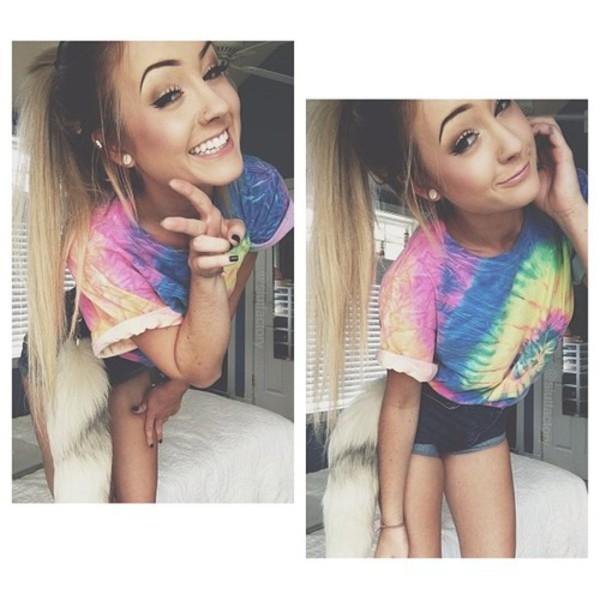 slutfactory aspen mansfield t-shirt colorful