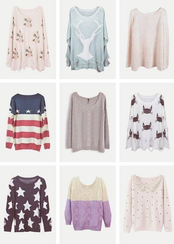 sweater oversized sweater fall outfits united states flag america sweater  sweater clothes sweater weather cool