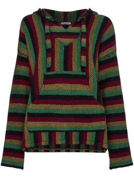 Adaptation hoodie women black sweater