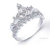 home accessory,crown ring,silver