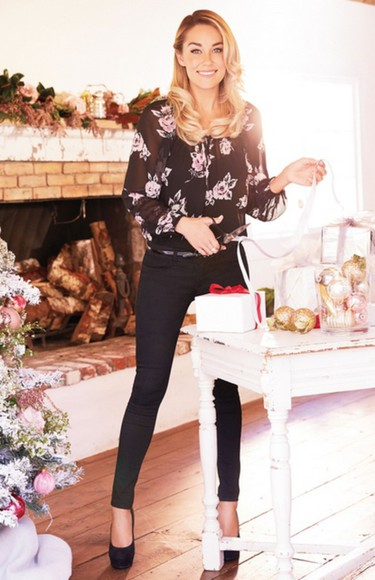 lauren conrad fall outfits jeans pants blouse