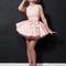 Latex primrose party dress & bow belt   william wilde uk