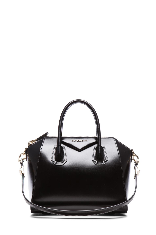 Givenchy small box antigona in black in black