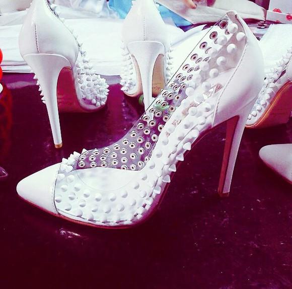 high heels high heel pumps clear white high heel pumps.