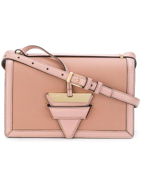 LOEWE women bag leather purple pink