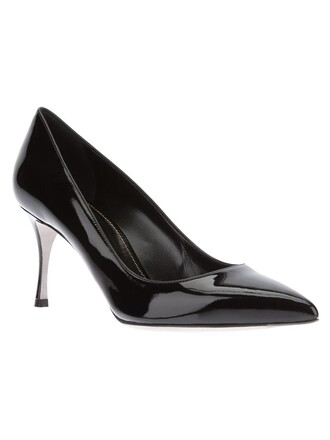 black shoes
