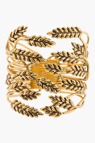 jewels aurélie bidermann gold cuff bracelets statement bracelet