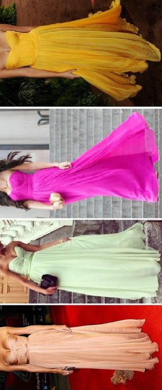 dress prom dress evening dress colorful princess dress high school red carpet rohanna selena