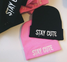 STAY CUTE HAT  on The Hunt