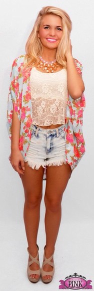 shorts blouse jacket
