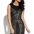Black Little Black Dress - Black Studded Bodycon Dress with | UsTrendy