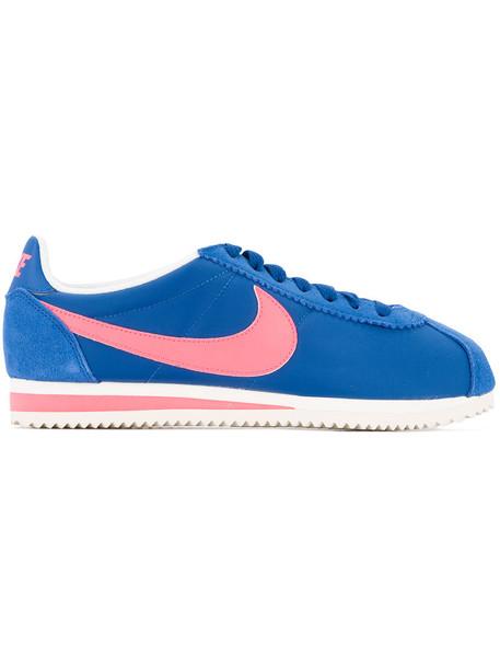 Nike women soft sneakers blue shoes