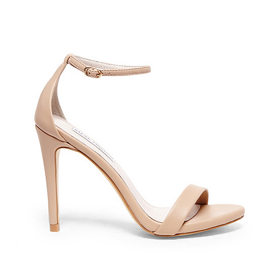328b19e5658 Ankle Strap Heels in White