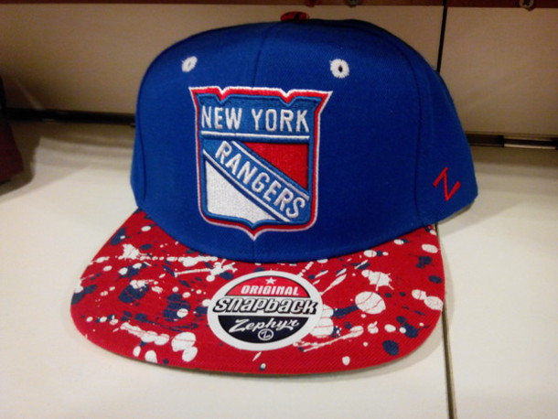 hat zephyr cap zephyr hat zephyr new york rangers snapback swag