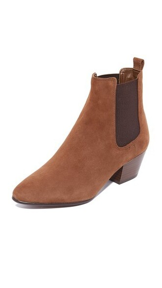 booties brown shoes