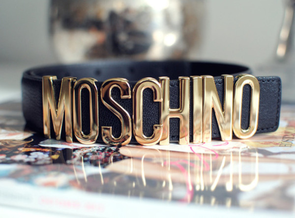 belt black lether belt moschino belt moshino black gold lether