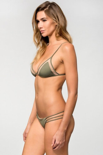 swimwear bikini bottoms dbrie swim green
