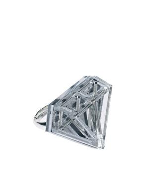 Tally & Hoe | Tally & Hoe - Bague forme diamant chez ASOS