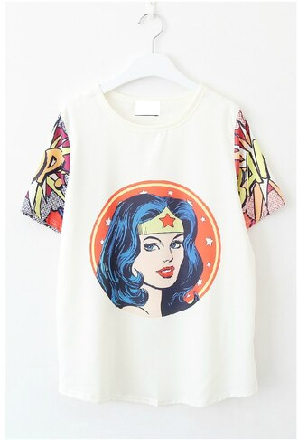 shirt t-shirt wonder woman