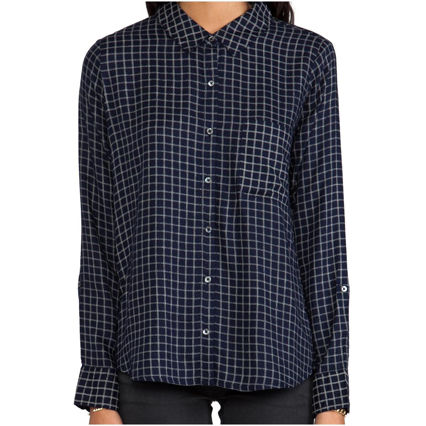 Soft Joie Anabella Plaid Button Down for Women – Oorrgal