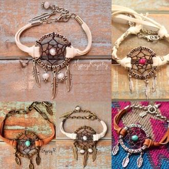 dreamcatcher bracelets accessories
