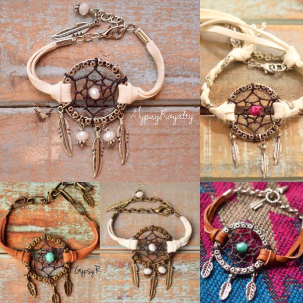 dreamcatcher bracelets accessories nail accessories