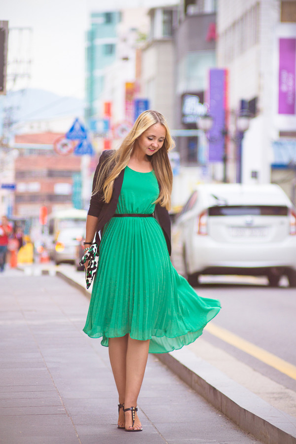 my blonde gal blogger bag jacket jewels dress shoes