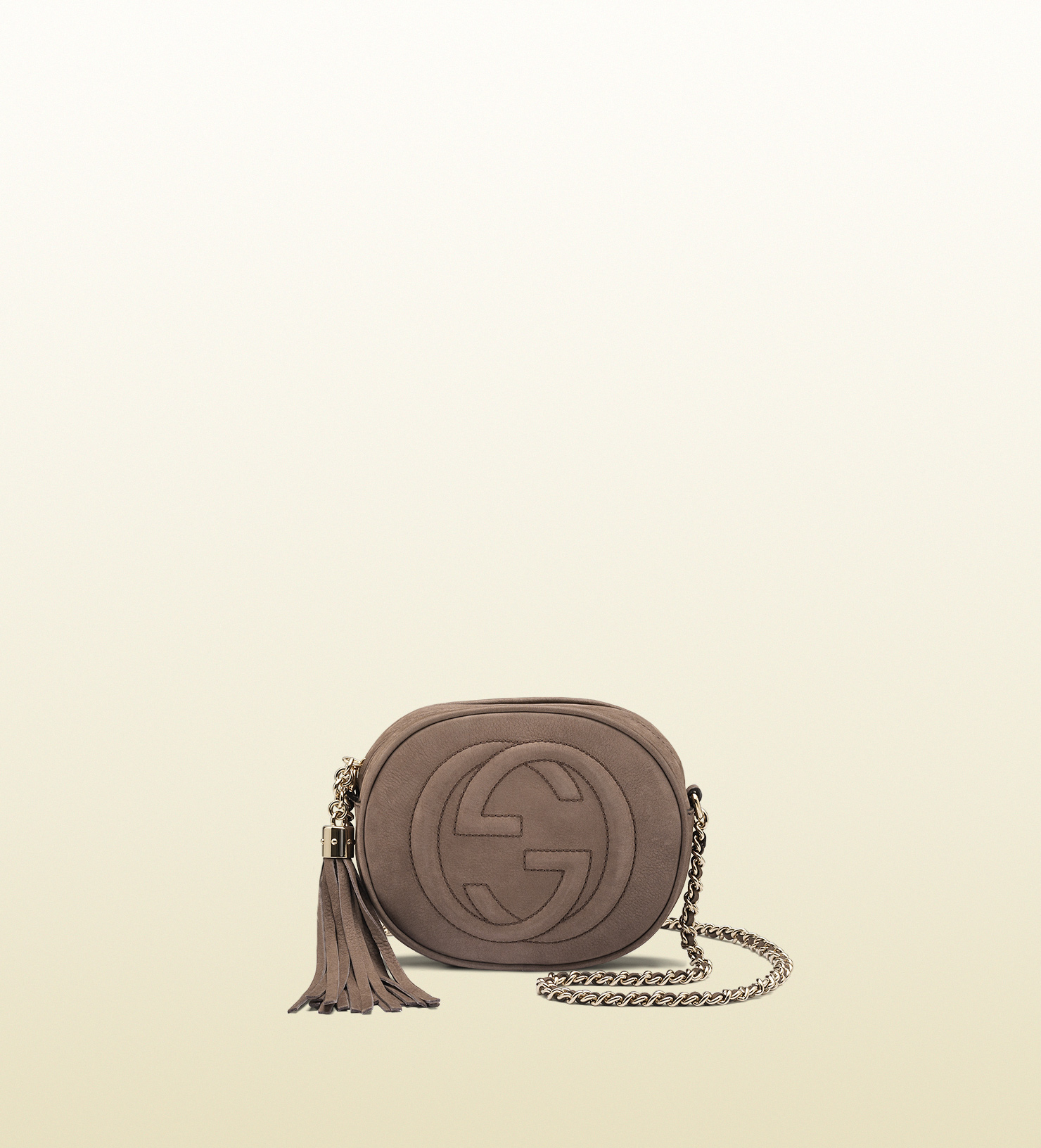 f6d8277aa6b Gucci - soho nubuck leather mini chain bag 353965AHHHG2137