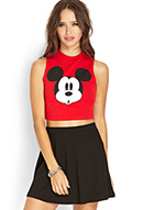 Hey mickey crop top
