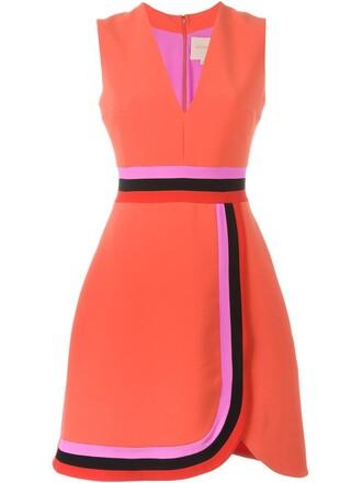 dress sleeveless dress sleeveless yellow orange