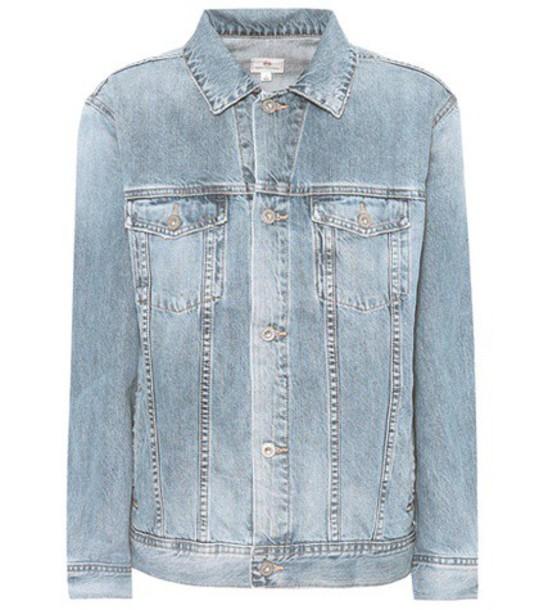 ag jeans jacket denim jacket denim blue
