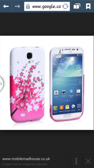 phone cover cherry blossom