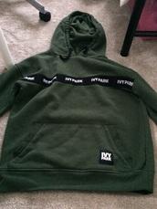 sweater,ivy park,green
