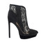 5 inch heels - boots with lace