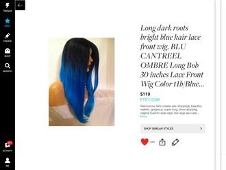 hair accessory blue blue hair black hair hair dye hairstyles hair extensions ombre hair weave