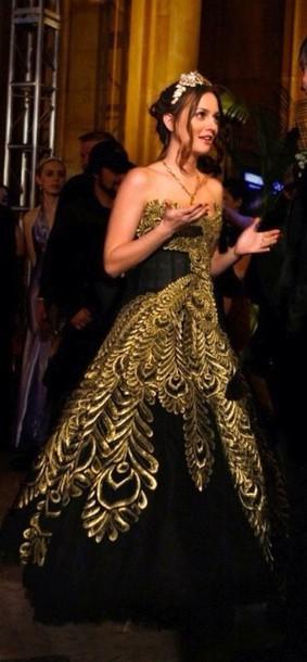 dress blair waldorf prom dress