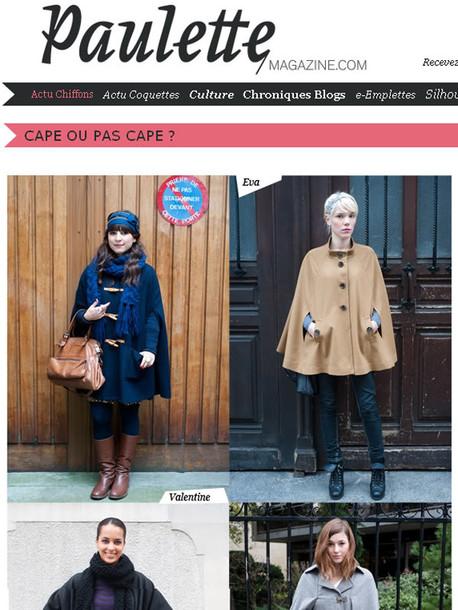 cape blue cape duffle coat duffle coat cape Gloverhall gloverall asos
