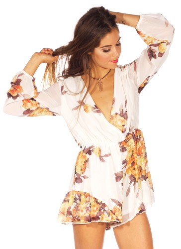 Moody blooms jumpsuit | Babyboo