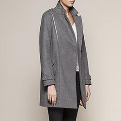 Veste en cuir femme IKKS (BC48095) | Vêtement Femme Hiver 13